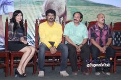 Pavana, Srujan Lokesh, Nagathihalli Chandrashekhar and V. Manohar at Typical Kailas Film Press Meet