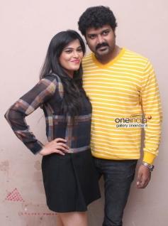 Pavana, Srujan Lokesh at Typical Kailas Film Press Meet
