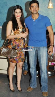 Payal Rohatgi with Sangram Singh 2 States Special Screening at Yash Raj Studios