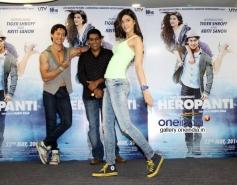 Promotion of film Heropanti on World Dance Day
