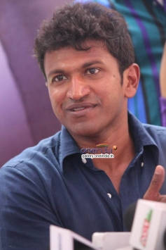 Puneeth Rajkumar at Dodmane Huduga Audio Recording Press Meet