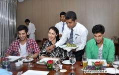 Purani Jeans film promotion at Neel restaurant in Andheri