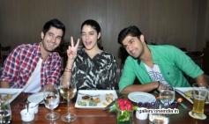 Purani Jeans starcast visits Neel restaurant in Andheri