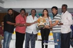 R. Chandru, K Manju, Pranitha at Brahma Movie 50 Days Success Meet