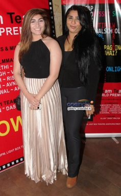 Rachel Singh and Sherley Singh at the premiere of films by Starkids