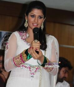 Radhika Kumaraswamy at Rudra Tandava Movie Press Meet