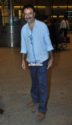 Rajkumar Hirani snapped returning from IIFA 2014