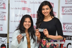 Rakul Preet Singh supports Let's Be Well Red campaign