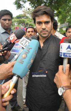 Ram Charan vote for Lok Sabha Election 2014
