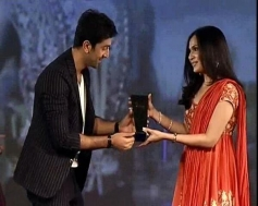 Ranbir Kapoor and Aishwarya Rajinikanth NDTV Indian of the Year Awards ceremony