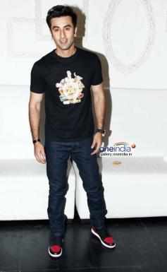 Ranbir Kapoor at Bombay Velvet wrap up party