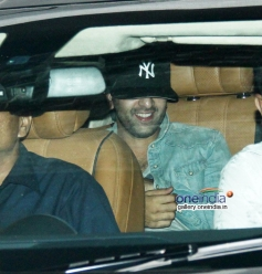 Ranbir Kapoor spotted at Aamir Khan's house