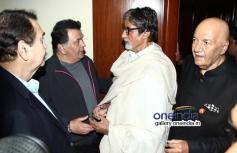 Randhir, Rishi and Amitabh at Prem Chopra's autobiography launch