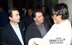 Randhir and Rishi conversation with BIG B at Prem Chopra's autobiography launch