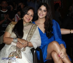 Rati Agnihotri with Izabelle Leite at Purani Jeans film music launch