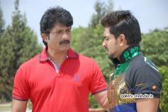 Ravishankar Gowda and Ajith at Kannada Movie Ondu Chance Kodi