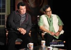 Rishi Kapoor and Subhash Ghai at Kaanchi film media interaction