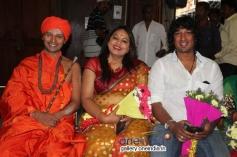 Rishikumara Swamy, Nurse Jayalakshmi at 24 Karat Movie Audio Release