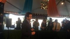 Saif Ali Khan arrives at Tampa International Airport for IIFA 2014