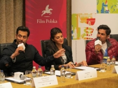 Salman, Jacqueline and Randeep attends Kick film press conference