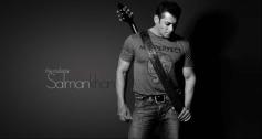Salman Khan posing with Guitar