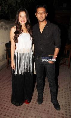 Sanjeeda Sheikh and Vatsal Seth at premiere of new tv show Ek Hasina Thi