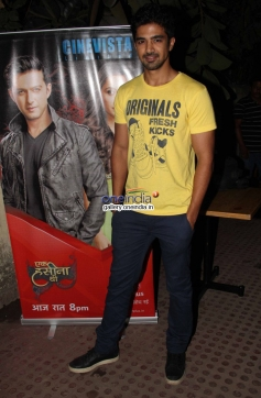 Saqib Saleem at premiere of new tv show Ek Hasina Thi
