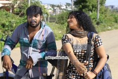 Shaan Ali and Shobhina Vasudev in Bassu Adhe Hale Kathe