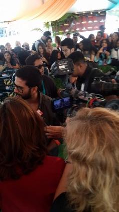 Shahid Kapoor arrives at Tampa International Airport for IIFA 2014