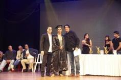 Shahid Kapoor at his brother's graduation