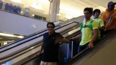 Shiamak Davar arrives at Tampa International Airport for IIFA 2014