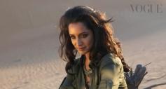 Shraddha Kapoor's Vogue India April 2014 cover shoot
