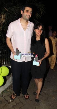 Shrithi Seth & Danish Aslam at Baby Shower Ceremony of Avantika Malik