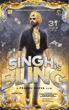 Singh is Bling  - First Look Poster