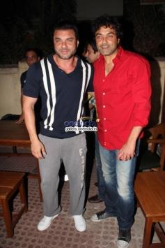 Sohail Khan and Bobby Deol at premiere of new tv show Ek Hasina Thi