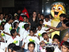 Sonakshi Sinha with Smile NGO Kids at PVR ECX Andheri