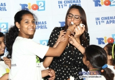 Sonakshi Sinha spends time with Smile NGO Kids