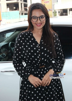 Sonakshi Sinha snapped at special screening of Rio 2 for Smile NGO Kids