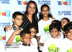 Sonakshi Sinha hosted special screening of Rio 2 for Smile NGO Kids