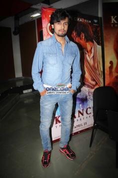 Sonu Nigam at Kaanchi film media interaction
