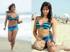 Sanjjana in Bikini