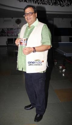 Subhash Ghai at Kaanchi film media interaction