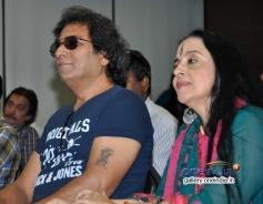 Talat Aziz and Illa Arun at launch of Ali Abbas album Ishq Kamal