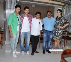 Tanuj Virwani, Aditya Seal and Izabelle Leite snapped at Neel restaurant