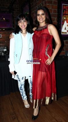 Tanushri Chattrji and Sona Mohapatra at Purani Jeans film music launch