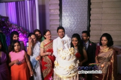 Telugu actor Raja and Amritha Marriage Reception