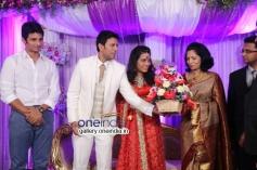 Jiiva at Raja and Amritha Marriage Reception