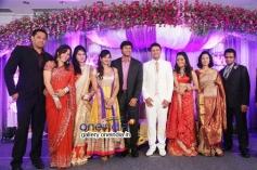 Srikanth at Raja and Amritha Marriage Reception