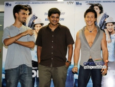 Tiger Shroff promotes his film Heropanti on World Dance Day