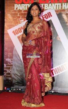Usha Jadhav at Bhoothnath Returns success party